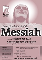 flyer concert messiah handel